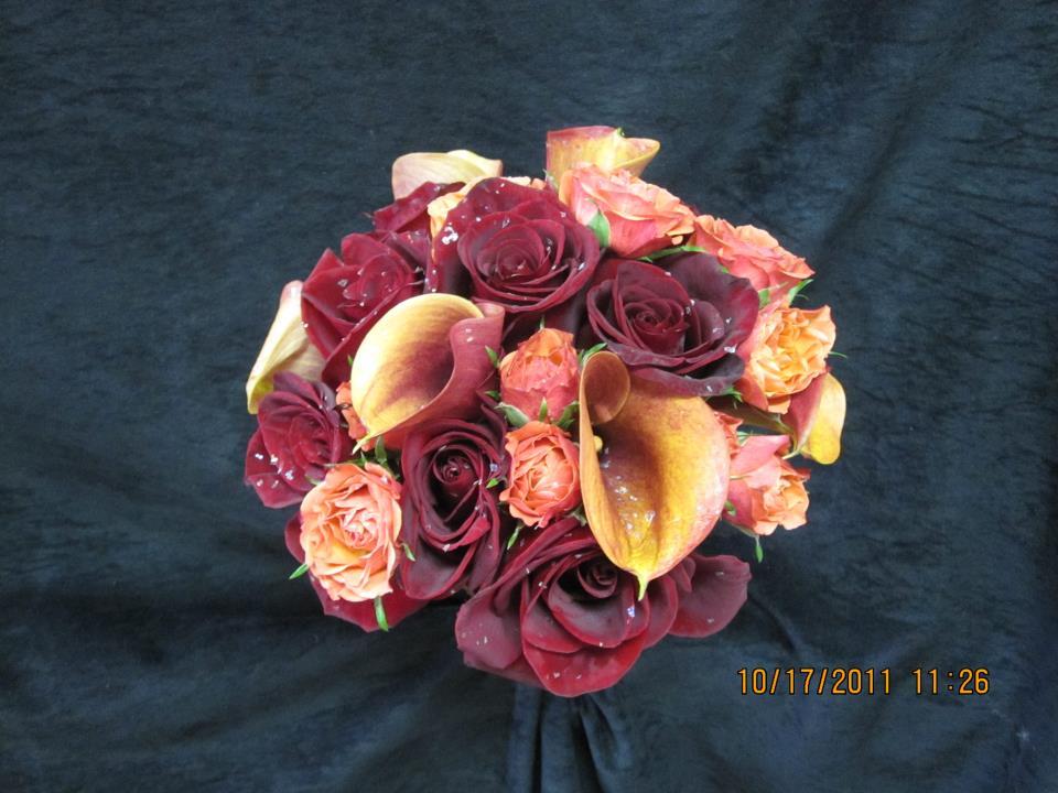 calla & roses